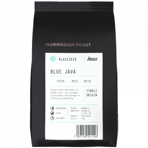 Norwegian Roast Blue Java Indonesia, hel, 12x500g