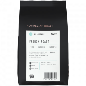 Norwegian Roast French Roast, hel, 12x500g