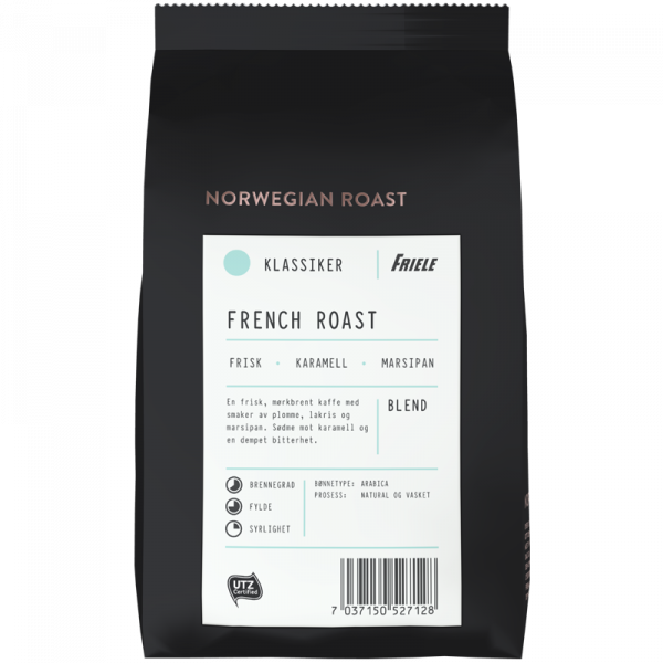 1670706 Friele Nprwegian roast french roast HEL 500g