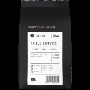 Norwegian Roast Espresso UTZ, hel, 12x500g