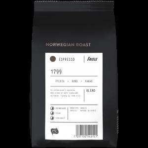 Norwegian Roast 1799 Espresso, hele bønner,12x500g