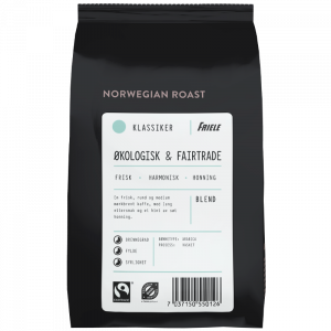 Norwegian Roast Økologisk & Fairtrade, hel, 12x500g