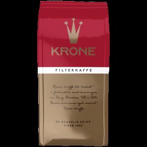 Krone Kaffe, filtermalt, 24x250g