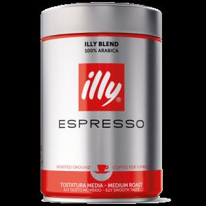 Illy espresso, malt, 6x250g
