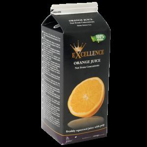 Excellence appelsinjuice NFC, 6x2 liter