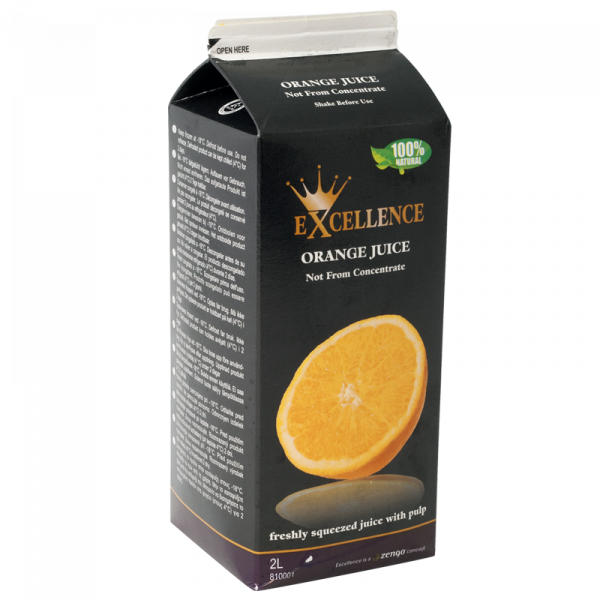 1670808 Excellence Appelsinjuice NFC 6x12L