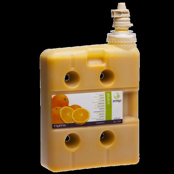 1670812 Zengo Select Appelsinjuice 4x3L