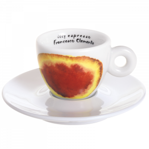 Illy Horeca Espresso med dekor 12 stk