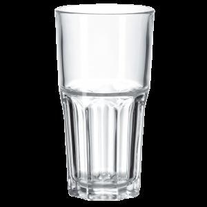 Caffe latte-glass 31 cl x 6