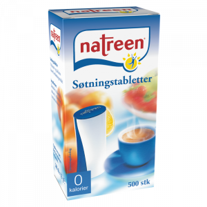 Natreen borddispenser 500 stk