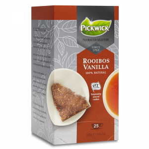 Pickwick Tea Master Selection Rooibush Vanilla,  3x25 stk