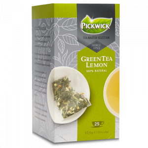 Pickwick Tea Master Selection Green Tea Lemon, 3x25 stk