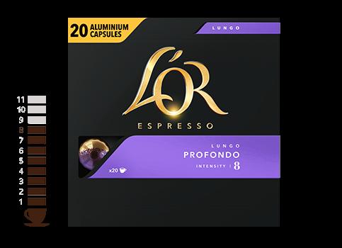 Douwe Egberts Lungo Profondo 20 Koffiecapsules