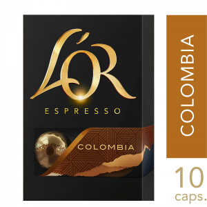 L'or Colombia kapsler 10x10 stk