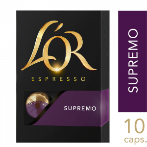 L'or Supremo kapsler 10x10 stk