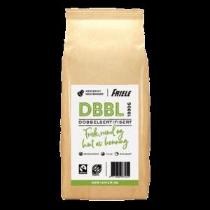 DBBL Dobbeltsertifisert, hel, 6x1000g