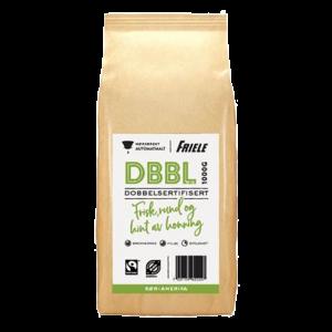 DBBL Dobbeltsertifisert, mørk automat, 6x1000g