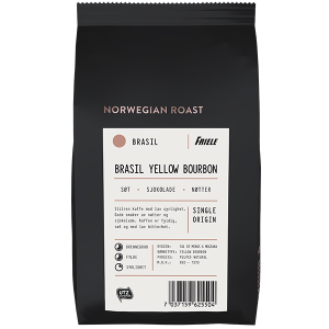 Norwegian Roast Brasil Yellow Bourbon, hel, 12x500g