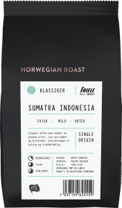 Norwegian Roast Sumatra Indonesia, hel, 12x500g